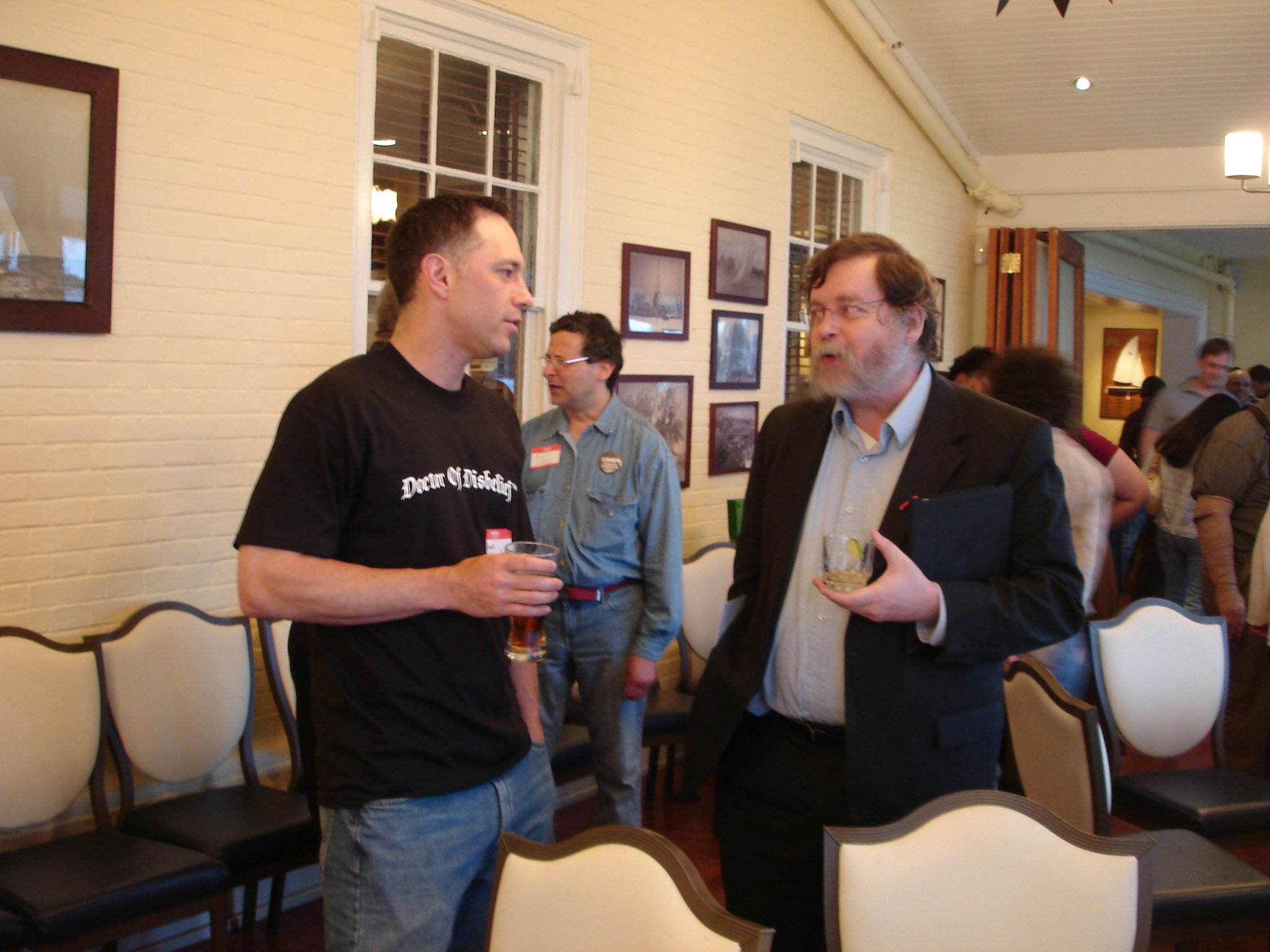 Brian Sapient and PZ Myers