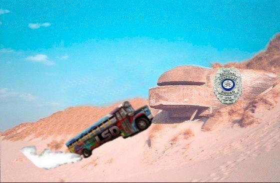 """RRS Bunker meets """"LSD Bus"""""""