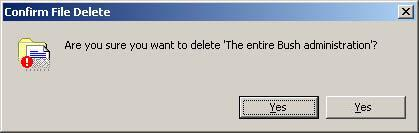 Want to delete?
