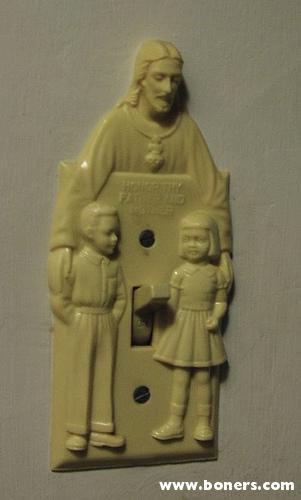 Jesus Lightswitch Cover